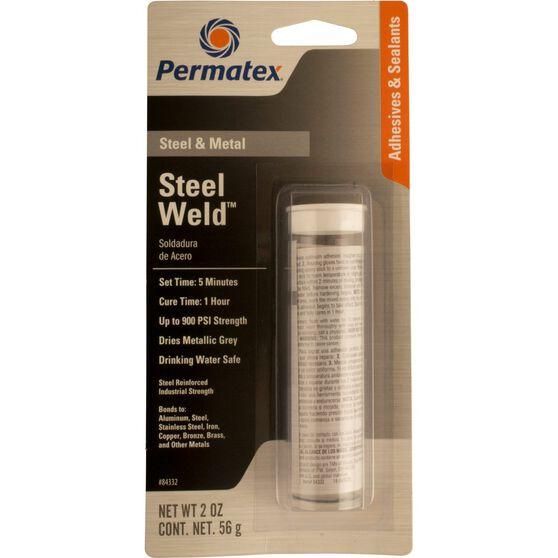Permatex Steel Weld - 2 oz, , scaau_hi-res