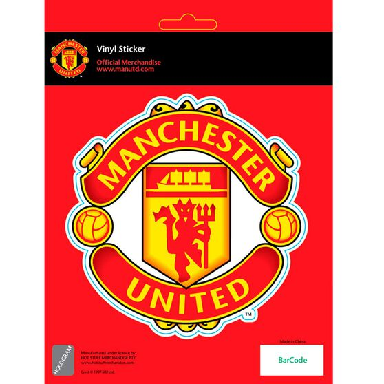 Hot Stuff Sticker - Manchester United, Vinyl, , scaau_hi-res