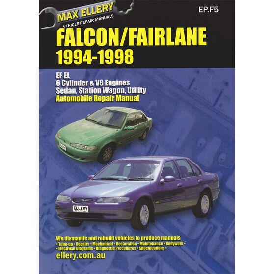 Max Ellery Car Manual Ford Falcon 1994-1998 - EP.F5, , scaau_hi-res