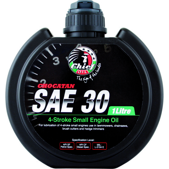 Chief Chocatan Small Engine Oil - SAE 30, 1 Litre, , scaau_hi-res
