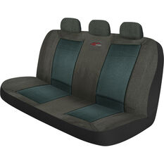 Urban Seat Cover - Grey, Adjustable Zips, Rear, Size 06H, , scaau_hi-res