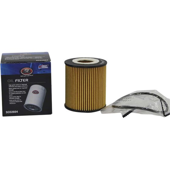 SCA Oil Filter SCO2604 (Interchangeable with R2604P), , scaau_hi-res