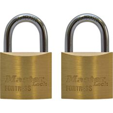 Master Lock Fortress Padlock - 30mm, 2 Pack, , scaau_hi-res