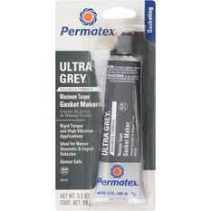 Permatex RTV Silicone Gasket Maker, Rigid High Torque - Ultra Grey, 99g, , scaau_hi-res