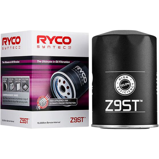 Ryco Syntec Oil Filter Z9ST (Interchangeable with Z9), , scaau_hi-res