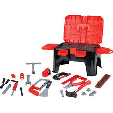 Kids Power Tool - Tool Kit with Stool, , scaau_hi-res
