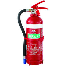 Fire Extinguisher - 2kg, With Hose, Metal Mounting Bracket, , scaau_hi-res