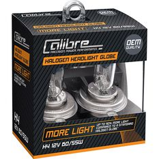 Calibre Headlight Globe Plus 90 H4 12V 60/55W, , scaau_hi-res