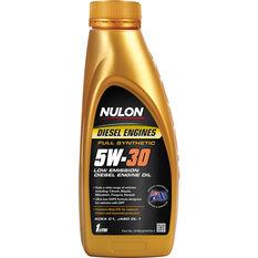 Nulon Low Emission Diesel Engine Oil - 5W-30 1 Litre, , scaau_hi-res