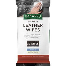 Leather Wipes - 20 Pack, , scaau_hi-res