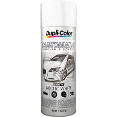 Dupli-Color Aerosol Paint Custom Wrap - Matte Arctic White, 311g, , scaau_hi-res