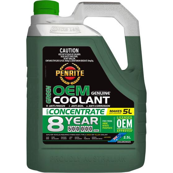 Penrite Green OEM Coolant Concentrate 2.5 Litre, , scaau_hi-res