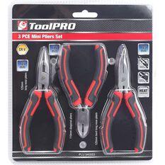 ToolPRO Mini Plier Set - 3 Pieces, , scaau_hi-res