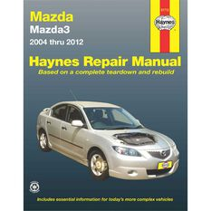 Haynes Car Manual For Mazda Mazda3 2004-2012 - 61712, , scaau_hi-res