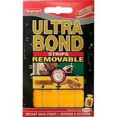 Ultrabond Double Sided Strips, 2cm x 4cm, , scaau_hi-res