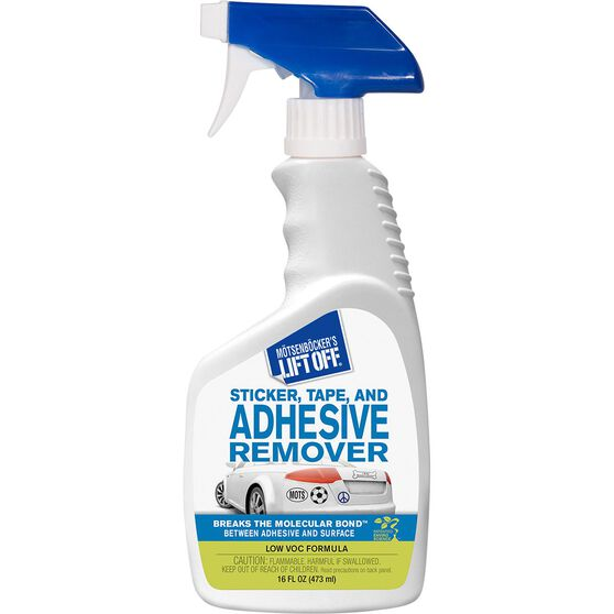 Lift Off Sticker, Tape and Adhesive Remover- 473mL