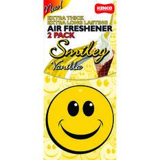Air Freshener Smiley, Vanilla, , scaau_hi-res