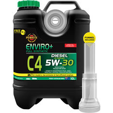 Penrite Enviro+ C4 Engine Oil - 5W-30 10 Litre, , scaau_hi-res