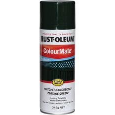 Rust-Oleum Aerosol Paint - Colourmate, Cottage Green 312g, , scaau_hi-res