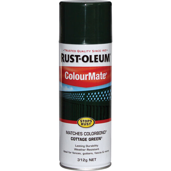 Rust-Oleum Aerosol Paint - Colourmate, Cottage Green 312g, , scaau_hi-res