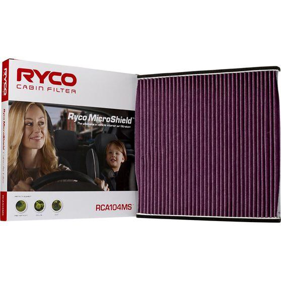 Ryco Cabin Air Filter Microshield - RCA104MS, , scaau_hi-res