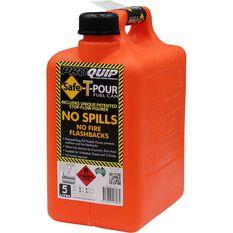 Jerry Can - Safe-T-Pour, Petrol, 5 Litre, , scaau_hi-res