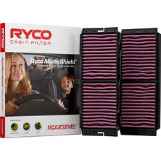 Ryco Cabin Air Filter Microshield RCA232MS, , scaau_hi-res