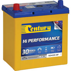 Century Hi Performance Car Battery NS40ZS MF, , scaau_hi-res