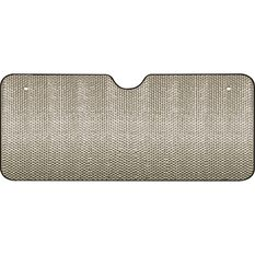 SCA Extra Wide Bubble Sunshade - Silver, Accordion, Front, , scaau_hi-res