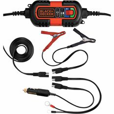 Black & Decker Battery Charger - 6V / 12V, 1.2 Amp, , scaau_hi-res