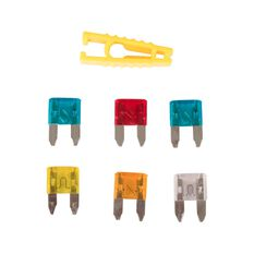 SCA Fuse Mini Blade Assorted, 6pce, , scaau_hi-res
