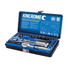 "Kincrome Socket Set 1/4"" drive Metric/SAE 48 Piece, , scaau_hi-res"