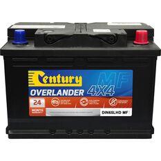 Century Overlander 4x4 Battery DIN65LHD MF, , scaau_hi-res