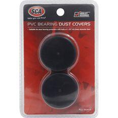 Bearing Dust Covers - PVC, Black, Pair, , scaau_hi-res