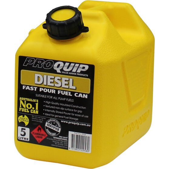 Pro Quip Diesel Jerry Can - 5 Litre, , scaau_hi-res