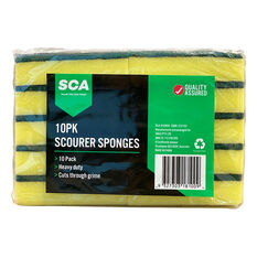 Scourer Sponges - 10 Pack, , scaau_hi-res