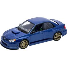 Welly Diecast Model Subaru Impreza WRX STI - 1:24 Scale Car, , scaau_hi-res