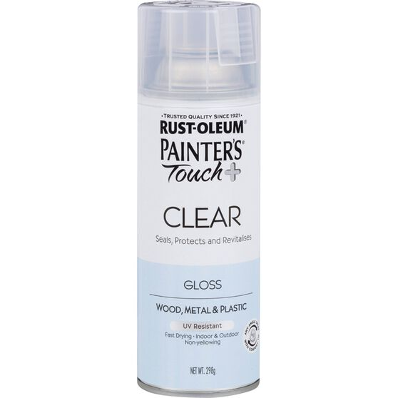 Rustoleum Aerosol Paint - Painters Touch Plus, Gloss Clear