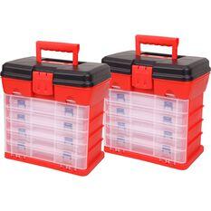 ToolPRO Plastic Organiser 19 Compartment 4 Pack, , scaau_hi-res