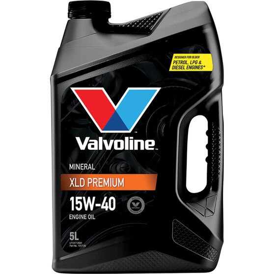 Valvoline XLD Premium Mineral Engine Oil 15W-40 5 Litre, , scaau_hi-res