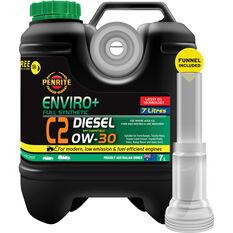 Penrite Enviro+ C2 Engine Oil 0W-30 7 Litre, , scaau_hi-res