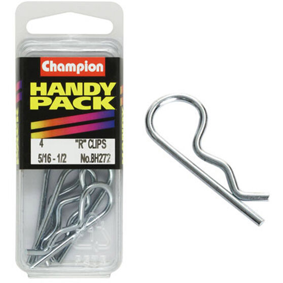 Champion R Clips - 5 / 16-1 / 2inch, BH272, Handy Pack, , scaau_hi-res