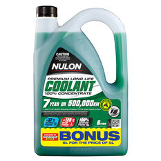 Nulon Long Life Anti-Freeze / Anti-Boil Concentrate Coolant - 6 Litre, , scaau_hi-res
