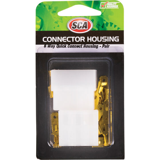 SCA Quick Connect Housing - 6 Way, 20 AMP, , scaau_hi-res