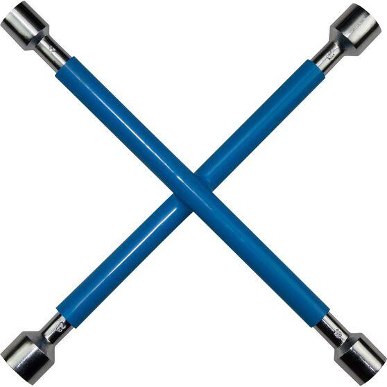 SCA Wheel Brace - Rubber Grip, Blue, , scaau_hi-res