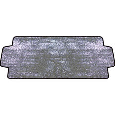 SCA External Sunshade - Silver, Accordion, Front, , scaau_hi-res