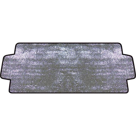 SCA External Sunshade - Silver, Accordion, Front, , scaau_hi-res