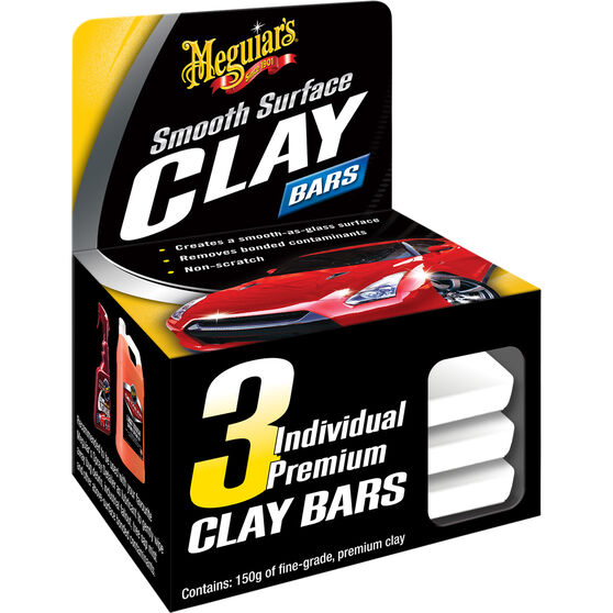 Meguiar's Clay Bar Kit - 3 Pce, , scaau_hi-res