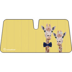 Giraffes Sunshade Fashion Accordion Front, , scaau_hi-res