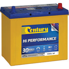 Century Hi Performance Car Battery NS60L MF, , scaau_hi-res
